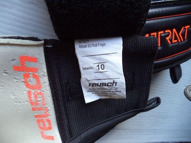 Luva Reusch Attrakt Sg Roll Finger Tam 10 - Foto 6