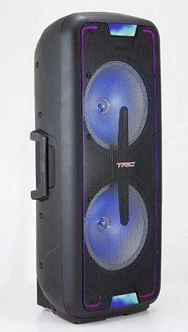 Caixa de som amploficada trc1400bt - Foto 3