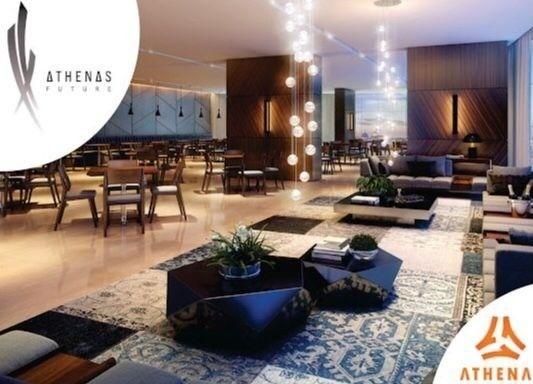 Residencial Athenas Future Living/ Apartamento 67,39m2/ 2 quartos (sendo 1 suíte)/ 1 vaga - Foto 4