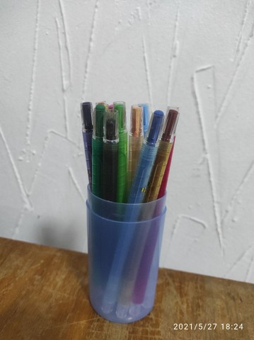 Caneta sublimatica 12 cores