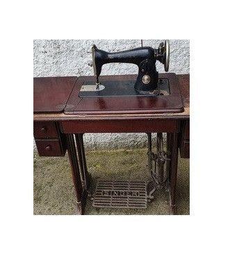 Maquina Costura Antiga Singer Anos 60 - Foto 6