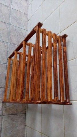 Sapateira de madeira  - Foto 3