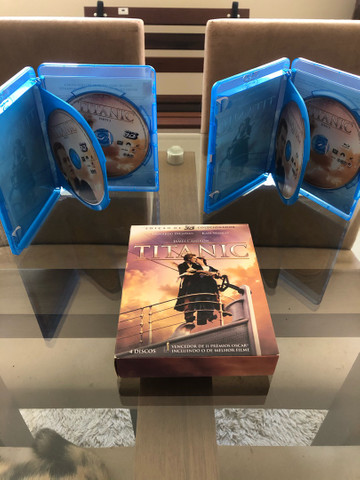 Blu-Ray Titanic 3D Edição de Colecionador (Raro). - Foto 2
