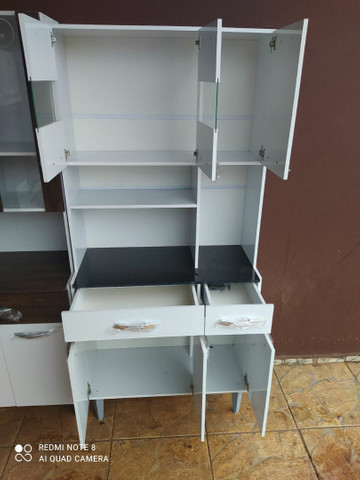 ? Armeiro de cozinha 6 portas 2 gavetas NOVOOOO*** - Foto 2