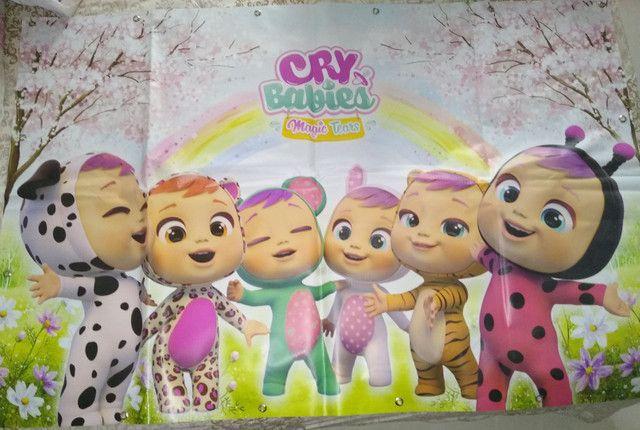 Kit decoração de aniversário Cry Babies - Foto 2