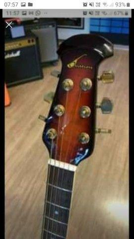 Vendo ou troco por smart TV violão  - Foto 2