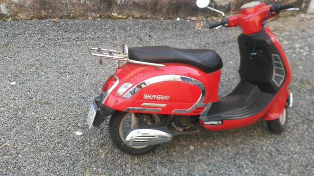 Moto retrô EX shineray - Foto 6
