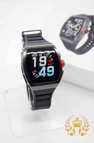 Relógio inteligente M1 Magnum Watch a prova d'água ( android e IOS) - Foto 4