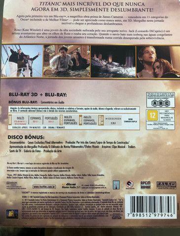 Blu-Ray Titanic 3D Edição de Colecionador (Raro). - Foto 3