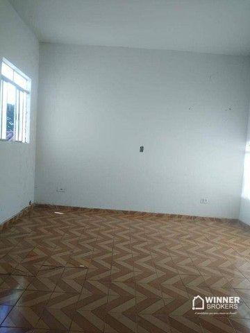Casa com 3 dormitórios para alugar, 90 m² por R$ 1.100,00/mês - Jardim Alvorada - Maringá/ - Foto 5