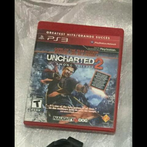 Vendo jogo original ps3 Uncharted 2 Leia