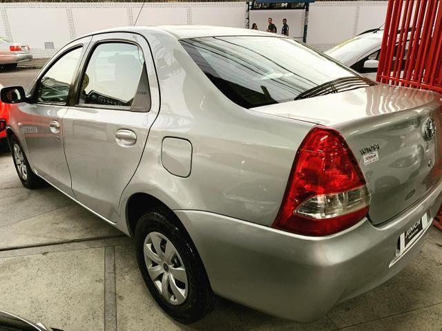 (Junior Veículos)Toyota Etios Sedan Xs 1.5 Completo+Gnv - Foto 4