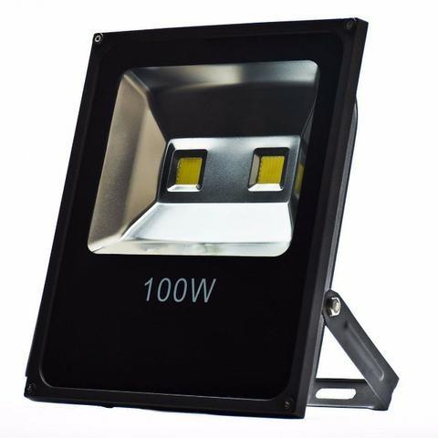 Refletor 100w Holofote LED Branco Frio Bivolt IP65 Garantia Loja Fisica Temos Motoboy - Foto 4
