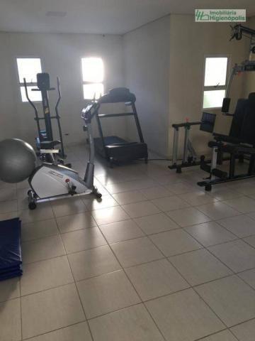 Apartamento com 3 dormitórios à venda, 60 m² por r$ 330.000 - parque bandeirante - santo a - Foto 16