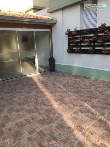 Apartamento com 3 dormitórios à venda, 60 m² por r$ 330.000 - parque bandeirante - santo a - Foto 20