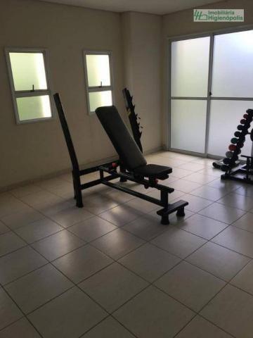 Apartamento com 3 dormitórios à venda, 60 m² por r$ 330.000 - parque bandeirante - santo a - Foto 17