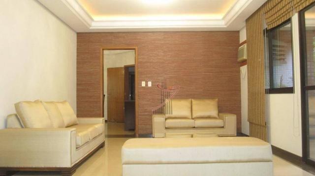 Apartamento com 4 dormitórios para alugar, 192 m² por R$ 3.300,00/mês - Edifício Maison Cl - Foto 4
