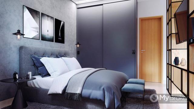 Apartamento com 1 dormitório à venda, 51 m² por R$ 260.000,00 - Setor Bueno - Goiânia/GO - Foto 2