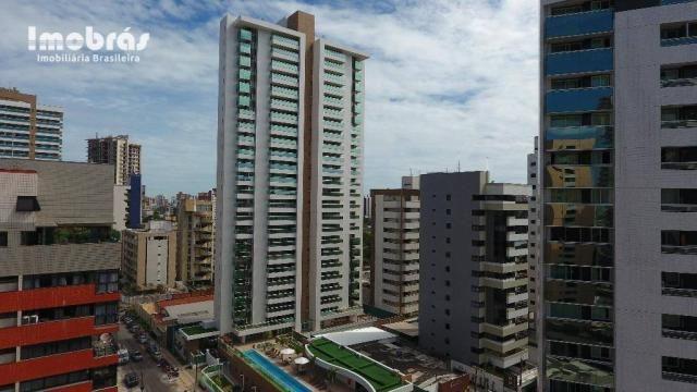 Contemporâneo, apartamento com 3 dormitórios à venda, 144 m² por R$ 1.420.000 - Aldeota -