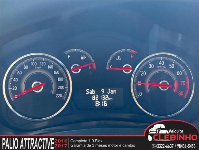 FIAT PALIO 1.0 MPI ATTRACTIVE 8V FLEX 4P MANUAL - Foto 10