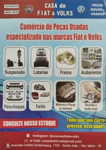 Eletroventilador Fiat Siena / Idea / Palio/ Strada Etc. Sem ar condicionado!!!! Original - Foto 3