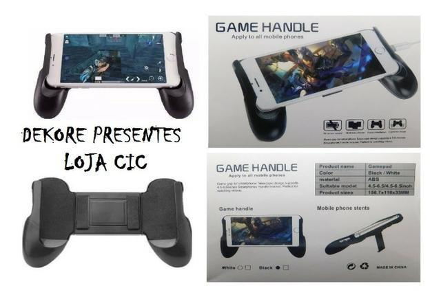 Game Handle Suporte Gamepad Manete Para Celular Jogo Joystik - Foto 4
