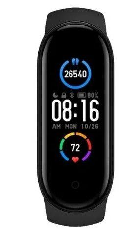 Relogio Smartwatch Pulseira Xiaomi Mi Band 5 + Película de Brinde Original lançamento