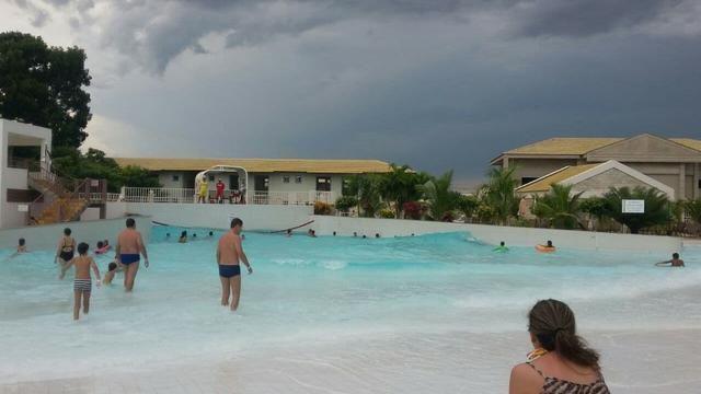 Hotel Lacqua diroma diária a 100 reais p/ 5 pessoas com parque aquático aberto 24h - Foto 11