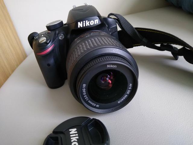Nikon D3200 +flash circular