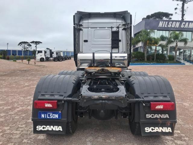 Scania R 510 6x4, 18/19, Higline Streamline, Freio Retarder - Top de Linha - Foto 7