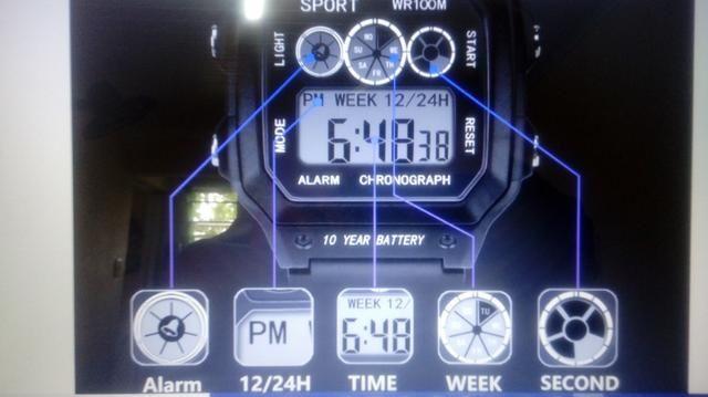 Relógio prova dágua - Foto 2