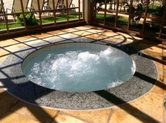 Hotel Lacqua diroma diária a 100 reais p/ 5 pessoas com parque aquático aberto 24h - Foto 9