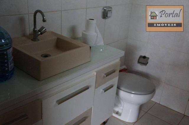 Chácara com 2 dormitórios para alugar, 250 m² por R$ 2.600/mês - Gramado Santa Rita - Camp - Foto 7