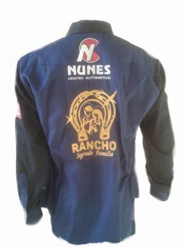 Camisa Personalizada Comitiva Cavalgada Rodeio Montaria Queima do Alho