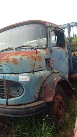 Cabine caminhão Mercedes Benz 1113 1313 - Foto 2