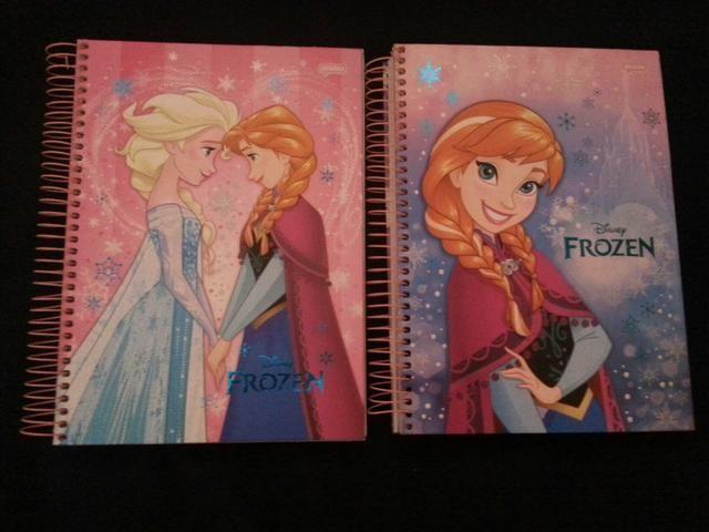 Cadernos de personagens