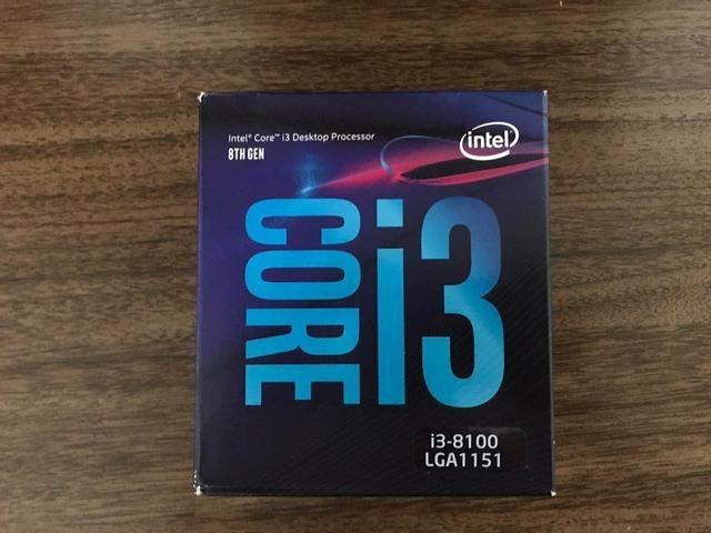 Processador I3 8100 8° Geração