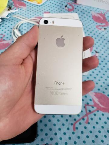 Iphone 5s gold 16gb zerado Anatel 4g - Foto 5
