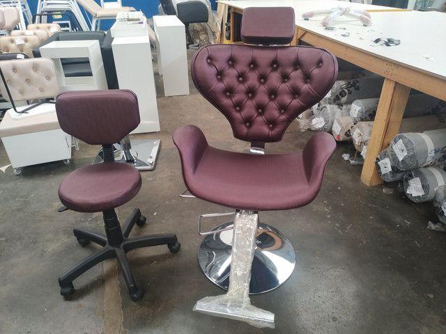 Só Salão, fábrica de móveis finos para salão de beleza esmalteria e barbearia !!! - Foto 3