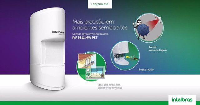 Sensor De Presença Ivp 5311 Mw Pet Alarme Intelbras - Foto 3