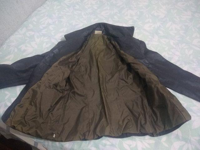 Vendo jaqueta de couro - Foto 2