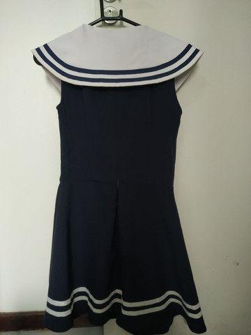 Fantasia de marinheira, tamanho M - Foto 3