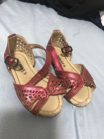 Sandálias para bebê - Foto 5