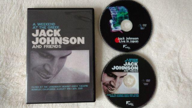 DVD Jack Johnson - A Weekend at the Greek (Original, Duplo e Raro) - Foto 3