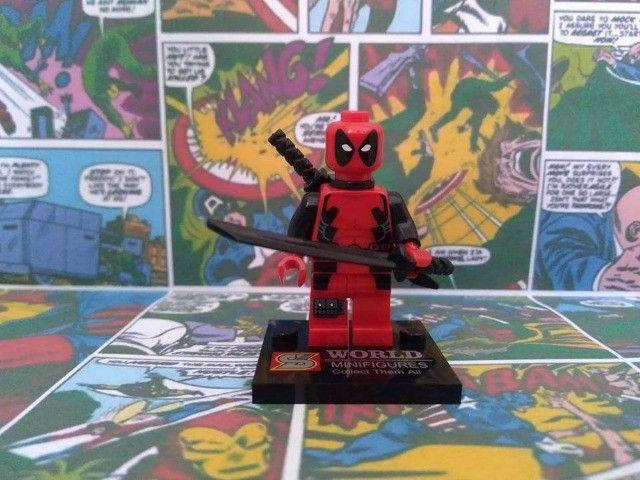 17 miniaturas Marvel, DC Comics e NinjaGO - Foto 3