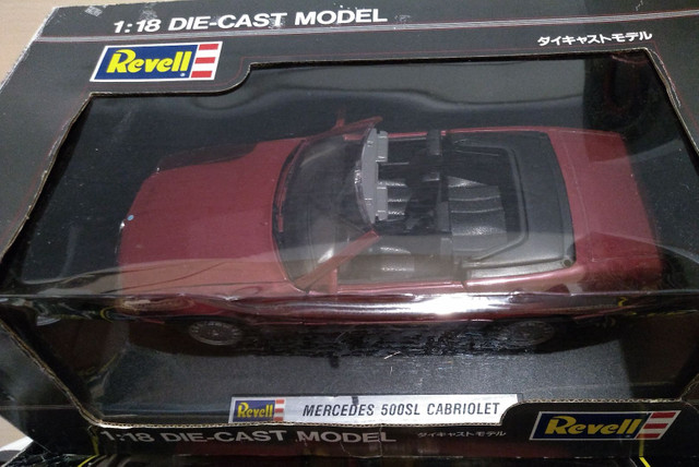 Mercedes 500SL 1/18 Cabriolet , Raridade !! - Foto 3
