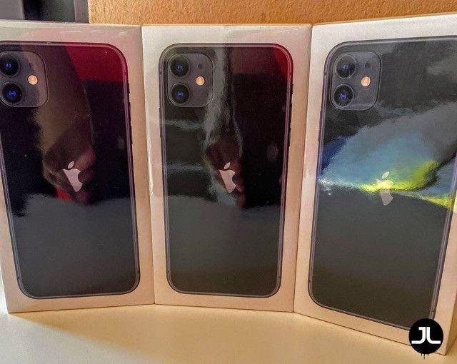 Lacrado iPhone 11 64Gb Preto
