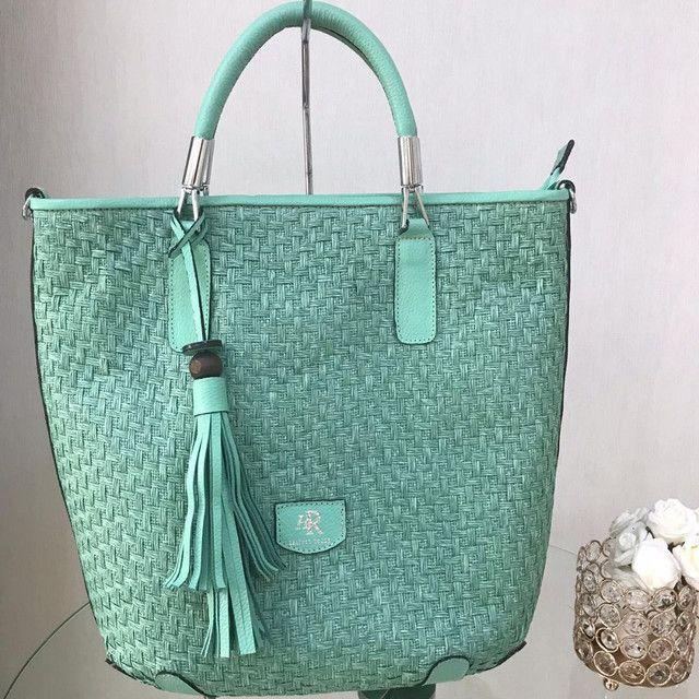 Bolsa em couro legítimo  - Foto 5
