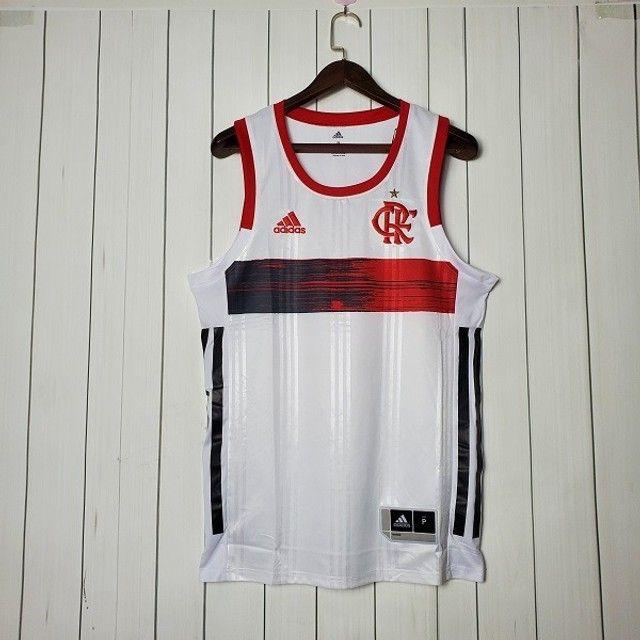 Regata Flamengo Basquete II 20/21 Branco