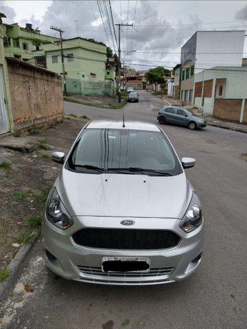 Ford Ká prata semi novo completo - Foto 5